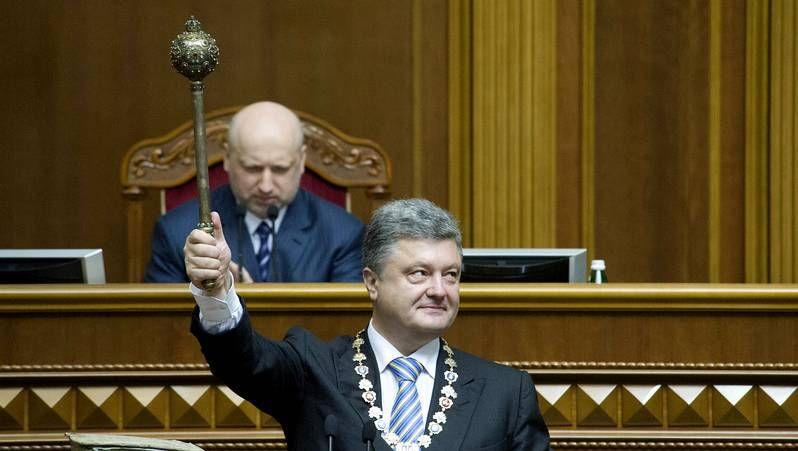 Poroshenko toma posesión como presidente de Ucrania