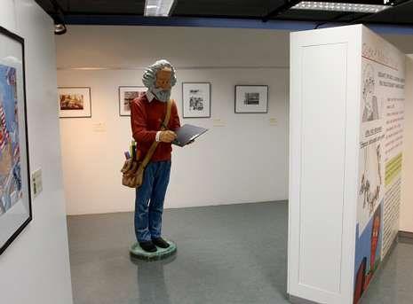 El Museo do Humor de Fene es el único dedicado a este género en España.