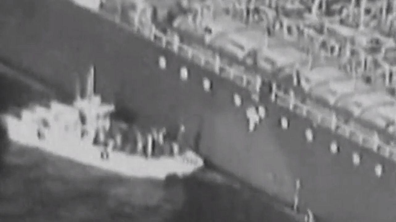 Retiran una mina sin explotar, adherida al casco de uno de los dos petroleros atacados en el Golfo.Los trabajadores de Alcoa en Avilés emprendieron una marcha hasta Madrid para exigir una solución para la fábrica