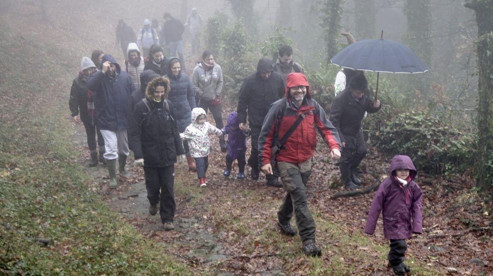 .Monte de Froxán, en Lousame, o concello onde máis chove de Galicia