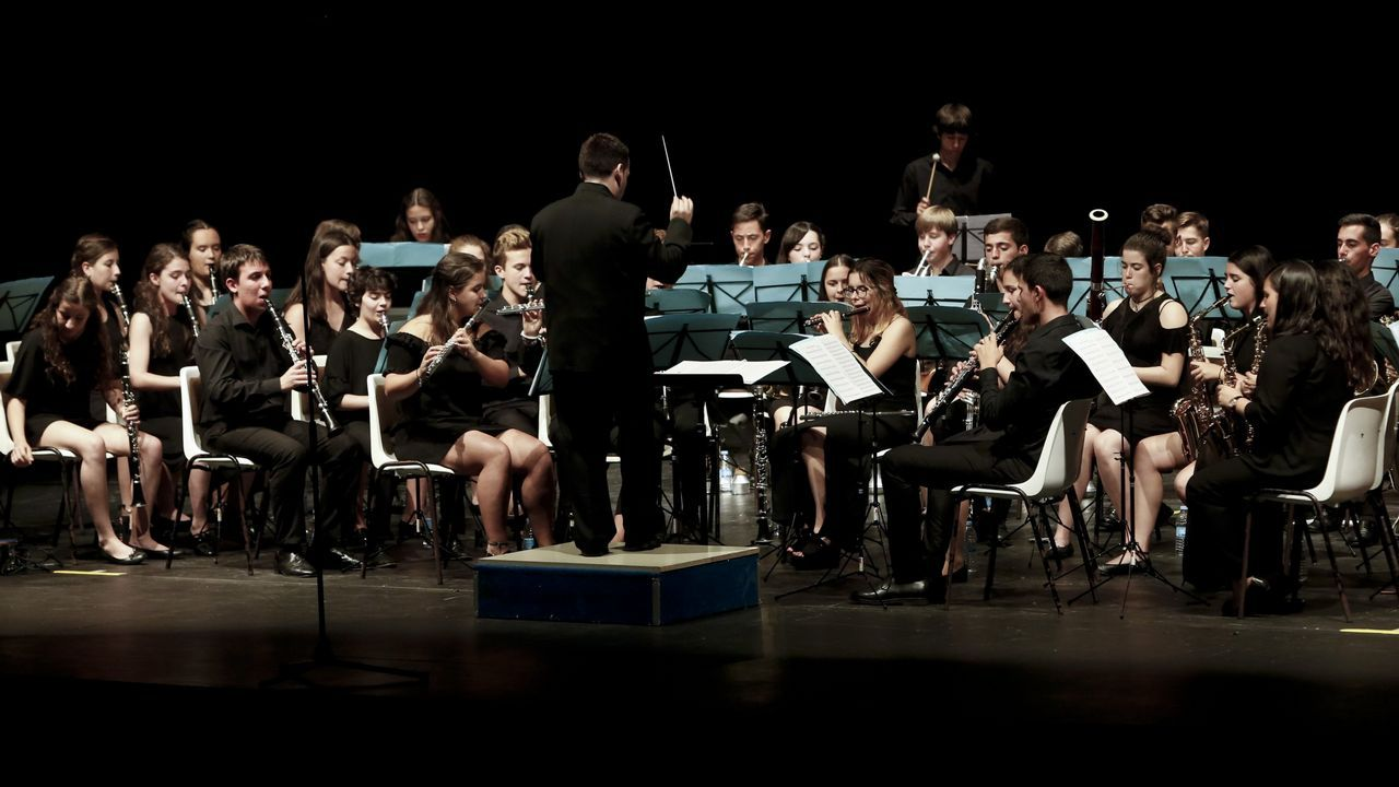 «Él necesitaba público y nosotros un músico».La violinista de 15 años María Dueñas debuta con la OSG este jueves en Pontevedra y el viernes en A Coruña