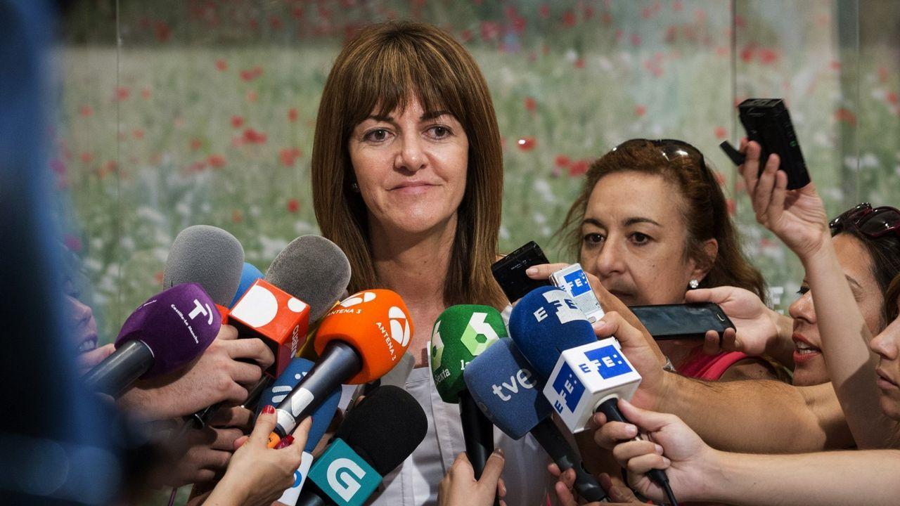 José María Múgica: «Otegi encarna exactamente aquello que tenemos que combatir».Casado asegura que el PP es la única fuerza moderada para defender la unidad de España