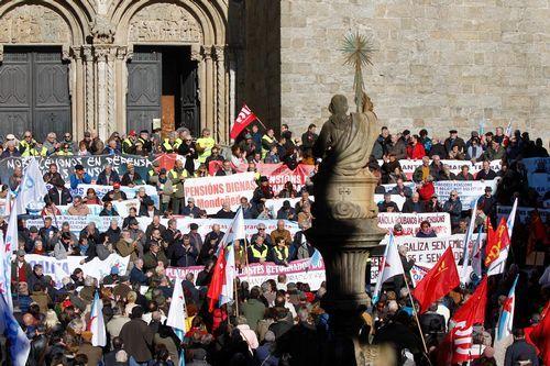 La marcha feminista del pasado 8M fue una de las concentraciones más numerosas