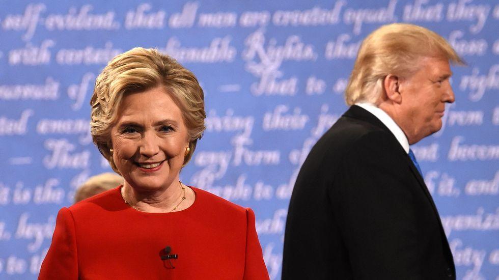 Un ataque soez y machista deja a Donald Trump al borde del KO