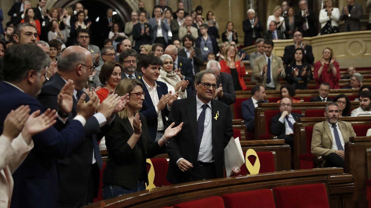 La CUP anuncia una abstención que permitirá a Quim Torra ser elegido presidente de la Generalitat