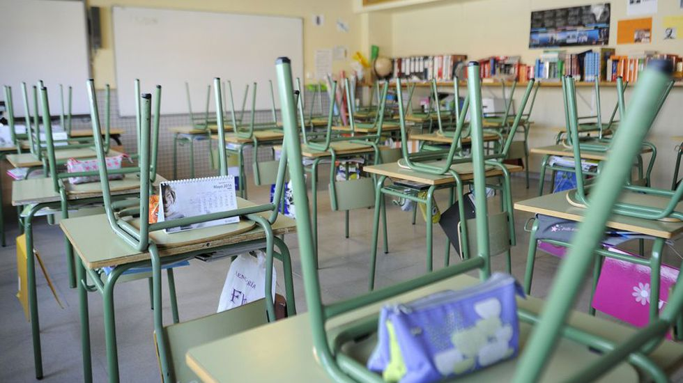 Las aulas de los colegios no cierran en verano