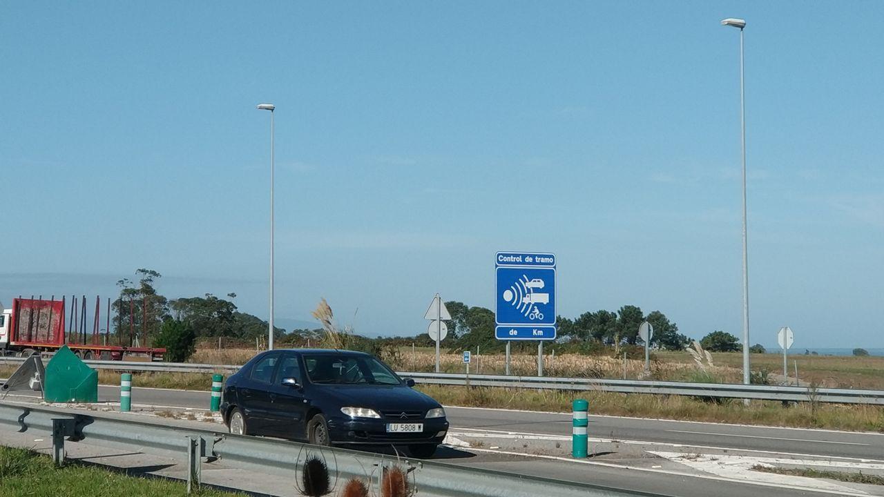 Asturias recupera la normalidad.Vista del polígono Valnalón