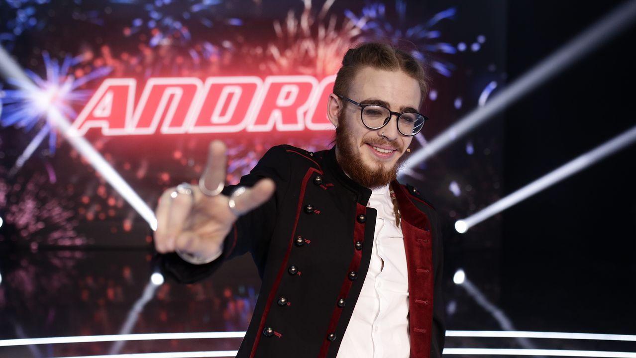 Así se proclamó ganador de «La Voz» Andres Martín.La web de HBO, caída