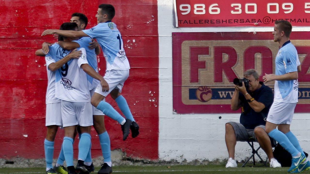 Las mejores imágenes del Zaragoza - Deportivo.Edu Cortina en El Requexón