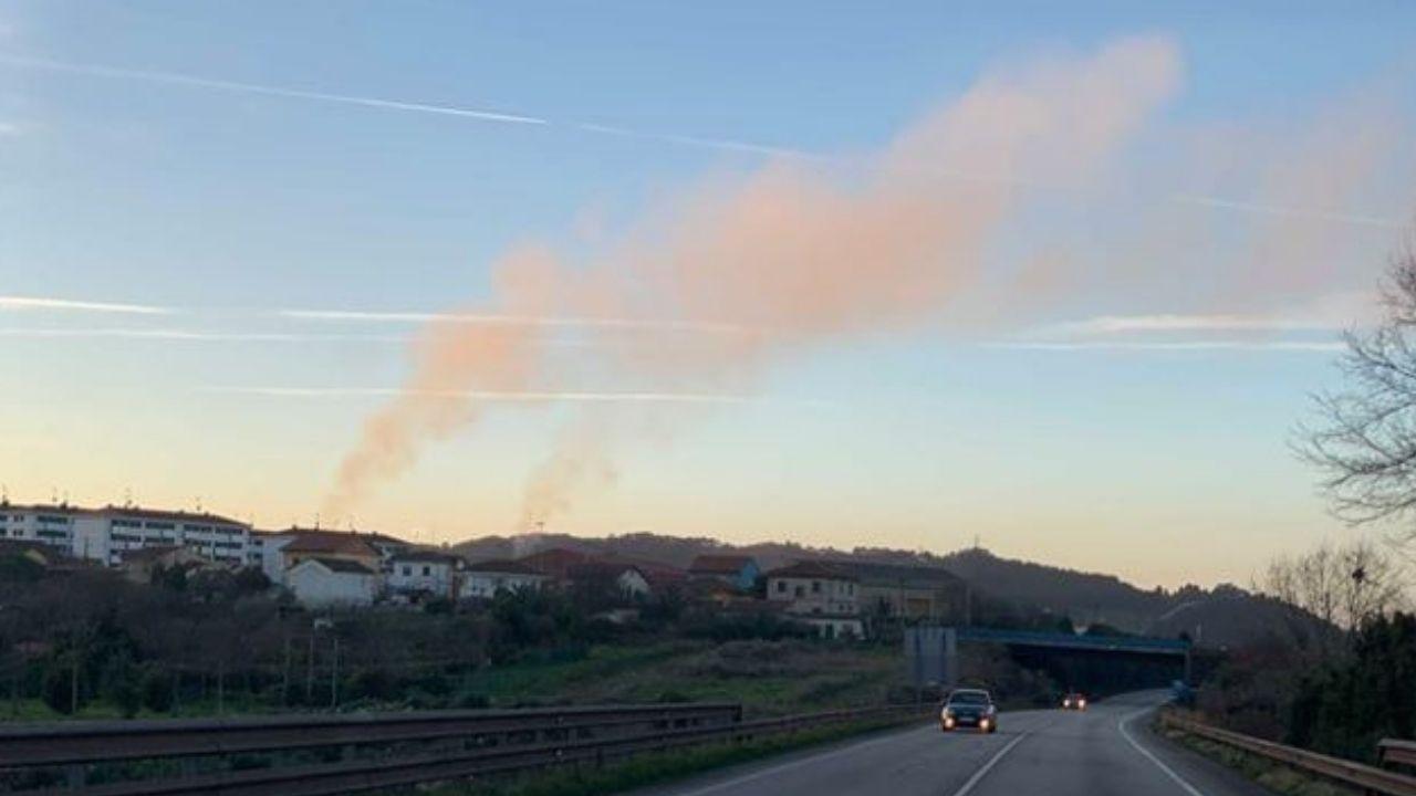 Contaminación en Gijón.Centro Asturiano en Córdoba, Argentina
