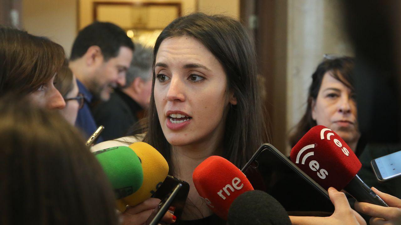 | Europa Press.La portavoz de Unidos Podemos en el Congreso de los Diputados, Irene Montero