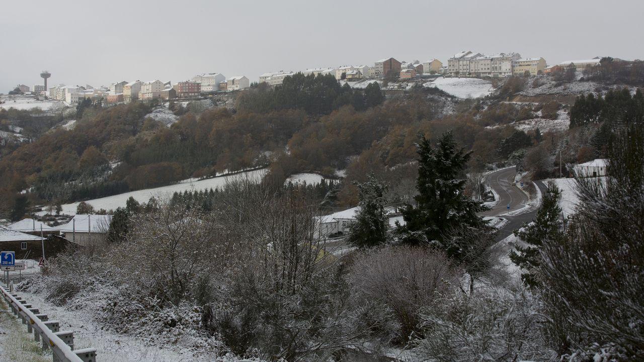 ¿Tienes ganas de nieve? Nos damos un paseo por el Alto do Acebo.