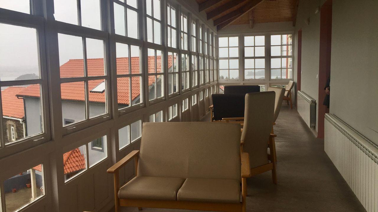 Así es el Centro de Día de Miño.Foto tras la victoria electoral de Sadamaioría