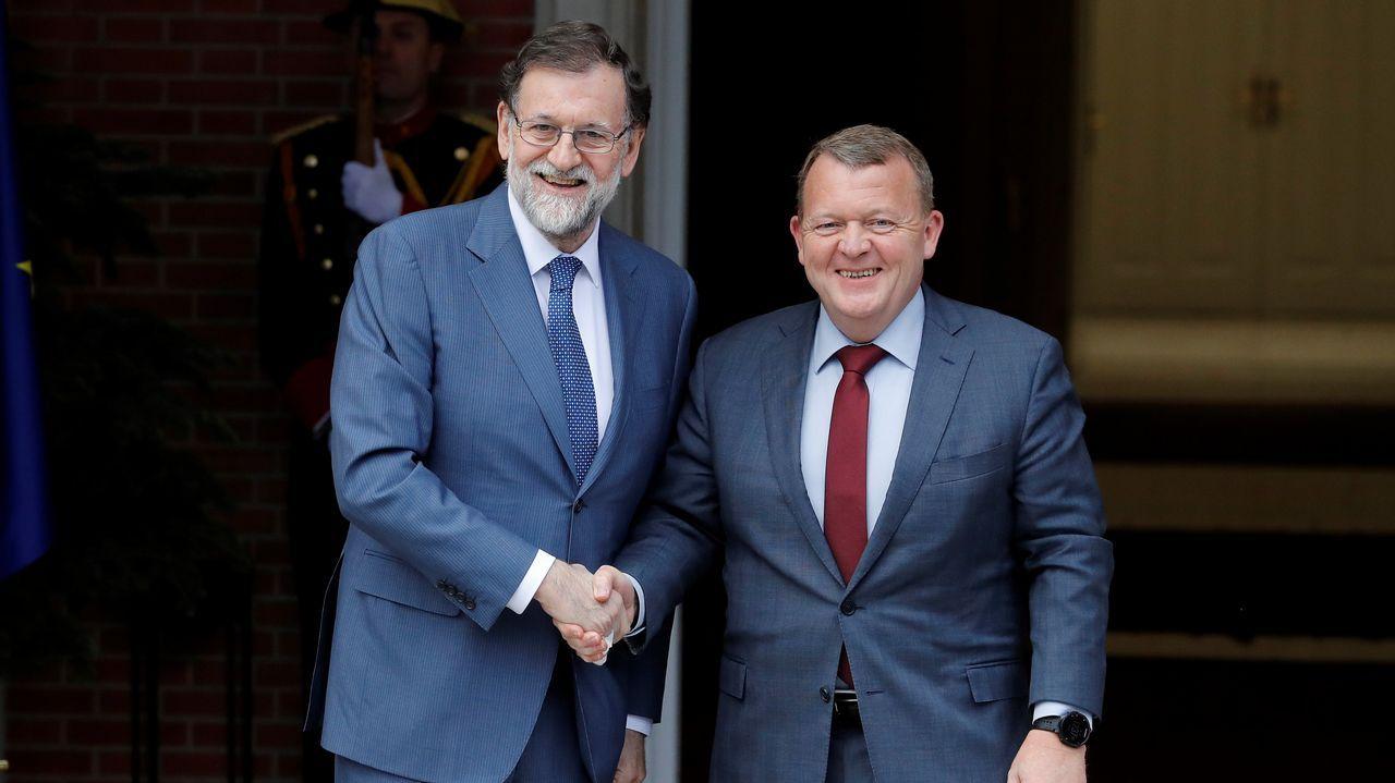 Rajoy apoya a Cifuentes y considera que no hay razones para romper el pacto de Madrid.