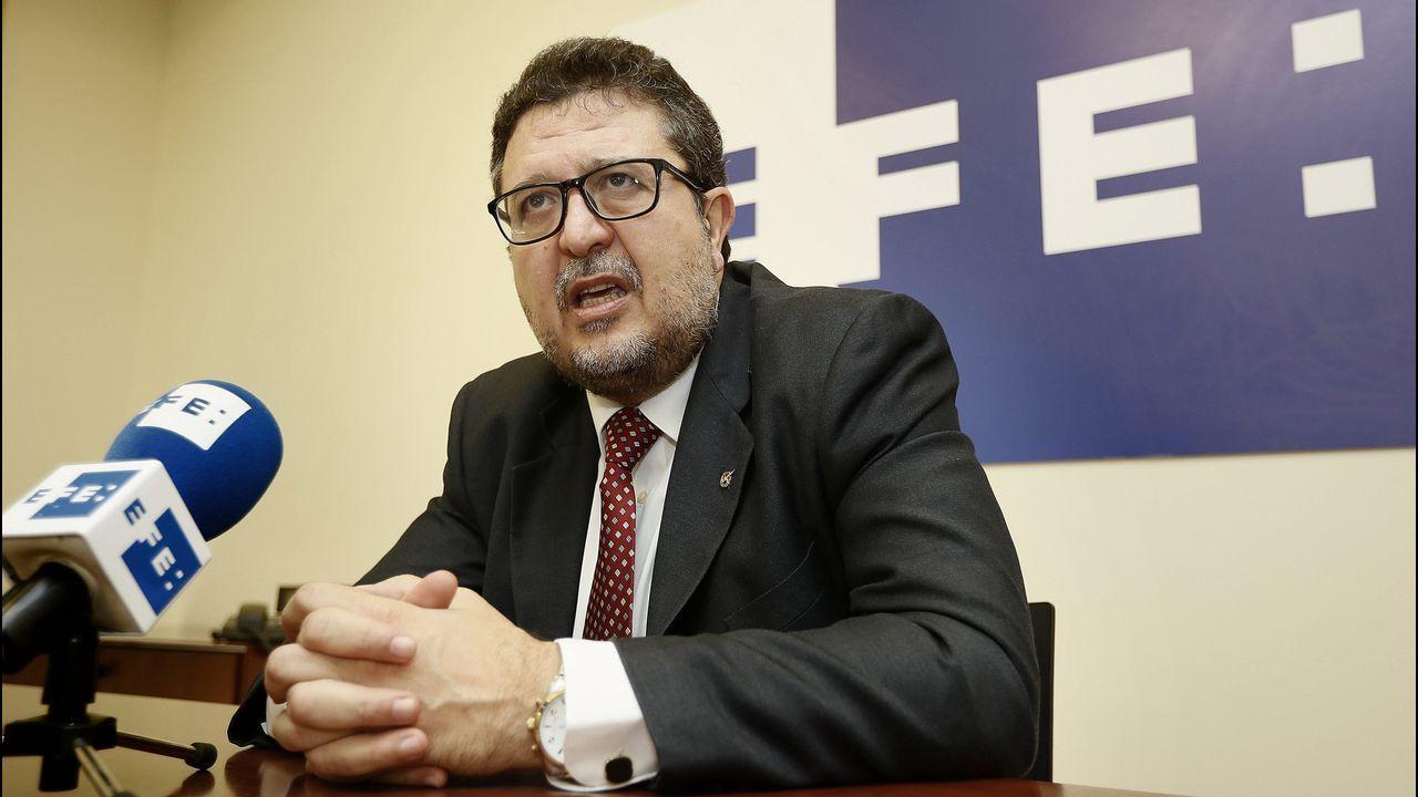 | EFE.Francisco Serrano, líder andaluz de Vox