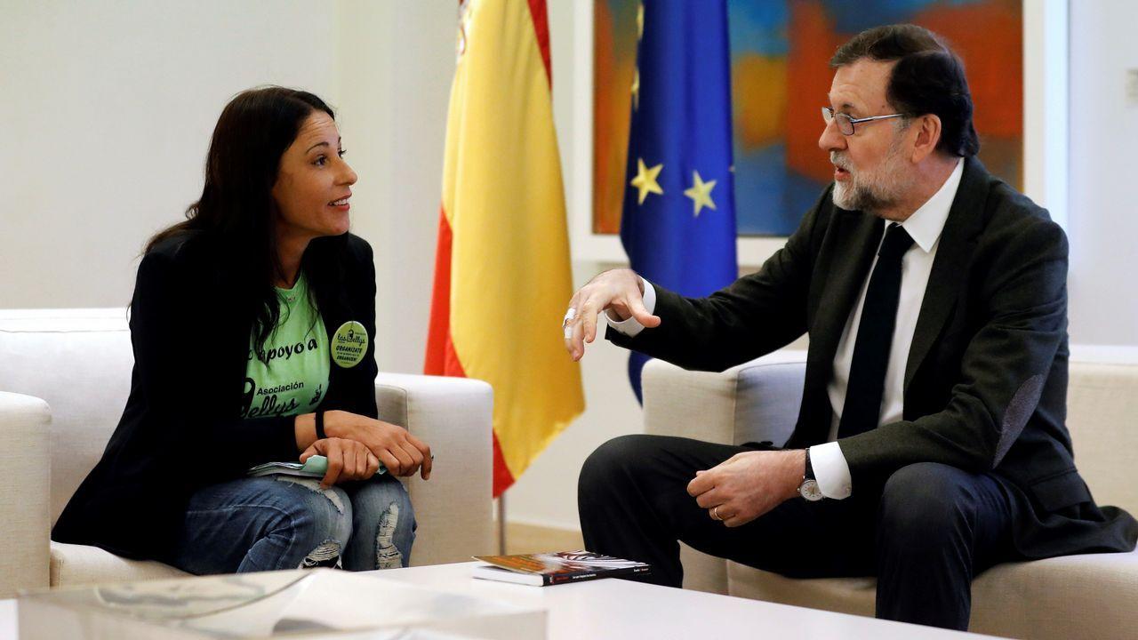 Se vende pazo de 1660 más barato que un piso en el centro de Madrid.Susana Díaz y Rajoy, en la reunión sobre la reforma de la financiación autonómica