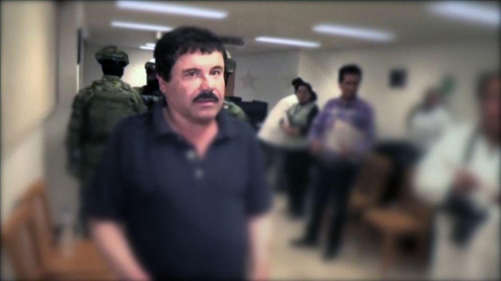 La fiscalía mexicana reconstruyela fuga y la detención de «El Chapo».Fotografía de archivo del 8 de enero cuando las autoridades mexicanas trasladaron al Chapo a la cárcel del Altiplano.