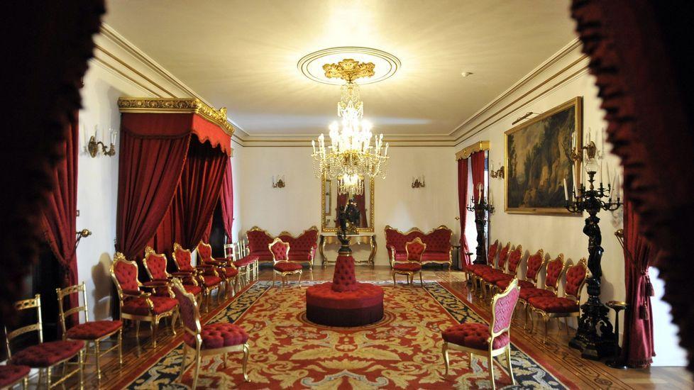 Vista del salón del Trono de Capitanía