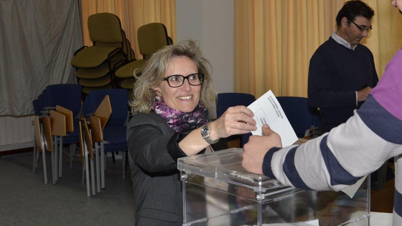 Gema Freire (Corcubión) es la que más veces se ha presentado