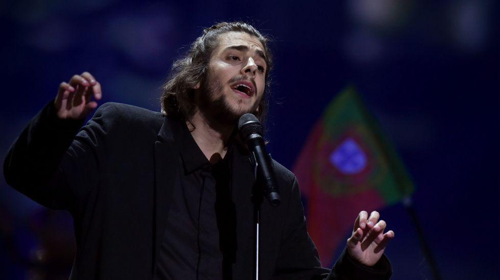 El portugués Salvador Sobral
