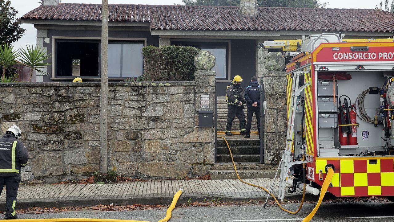 El incendio más destructivo de la historia de California, en imágenes.Uno de los incendios forestales declarado en Asturias