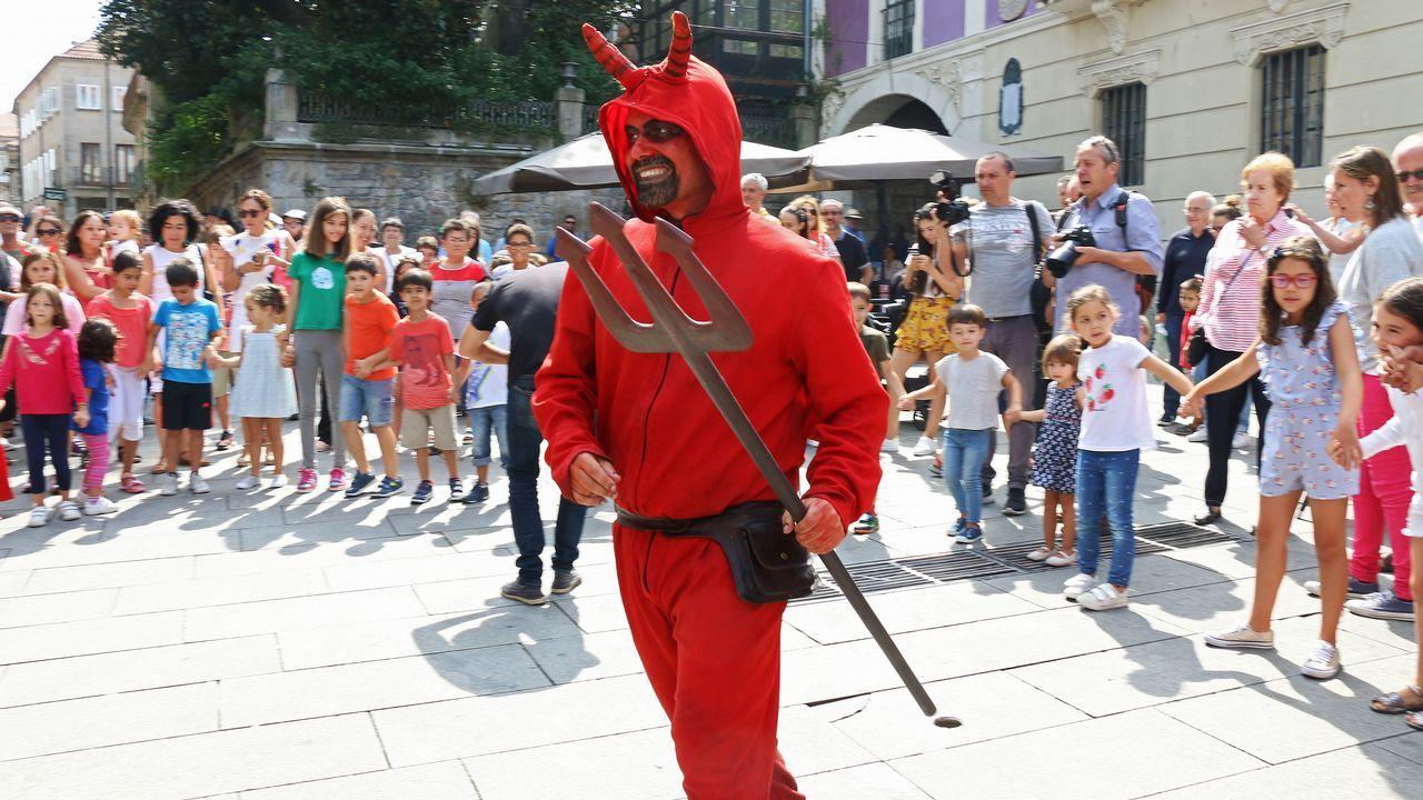 Festa do Demo en Pontevedra.