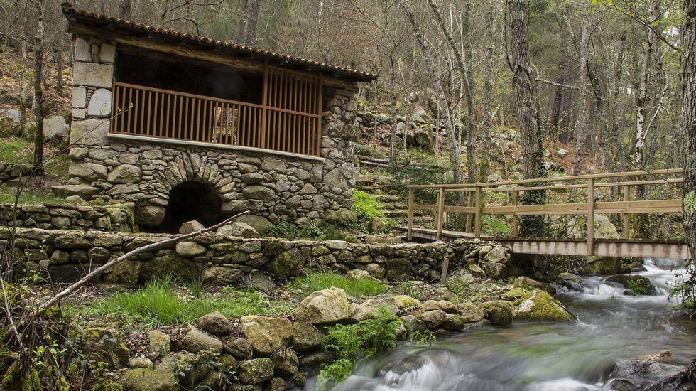 El molino de Souto de Arroxó es uno de los que se encuentran a lo largo de la ruta