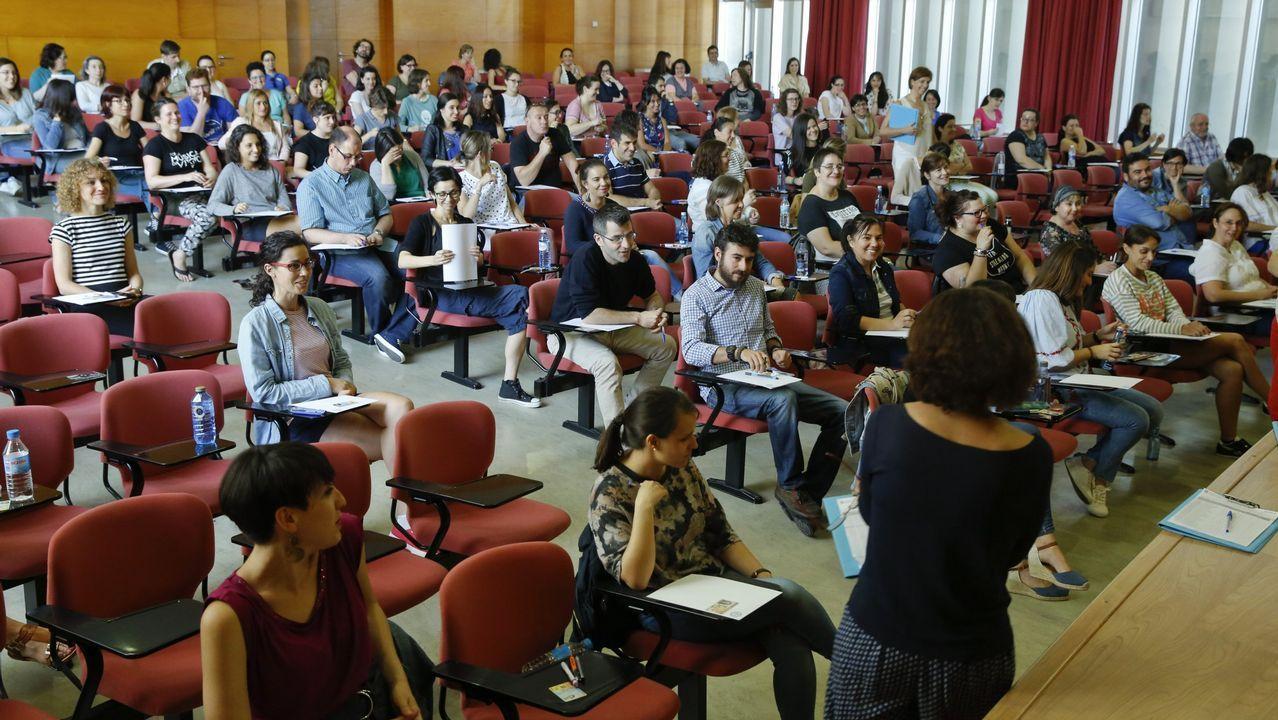Un instituto público a la conquista del bachillerato de excelencia.Diana Agram Érika Diz, Alipio Santiago y Marta García