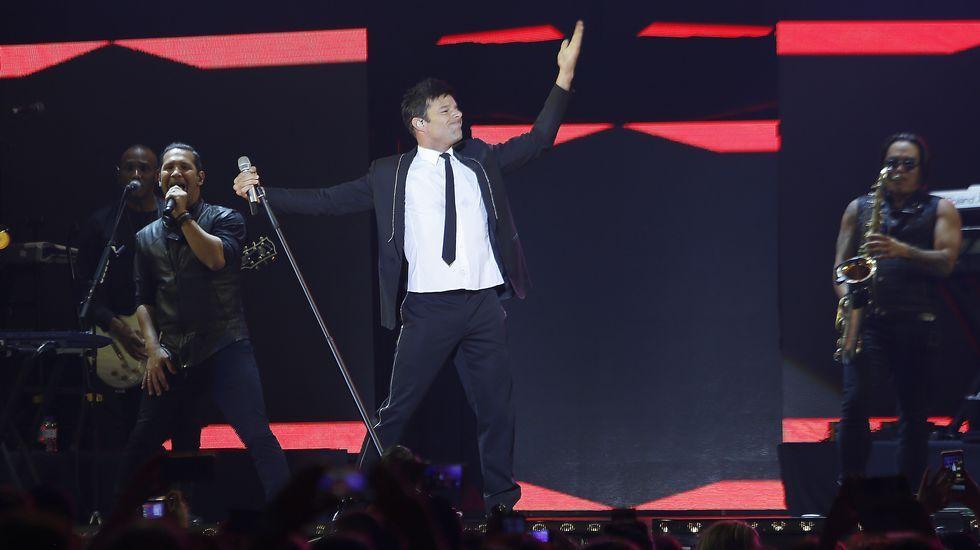 Ricky Martin triunfó en el Coliseo de A Coruña.