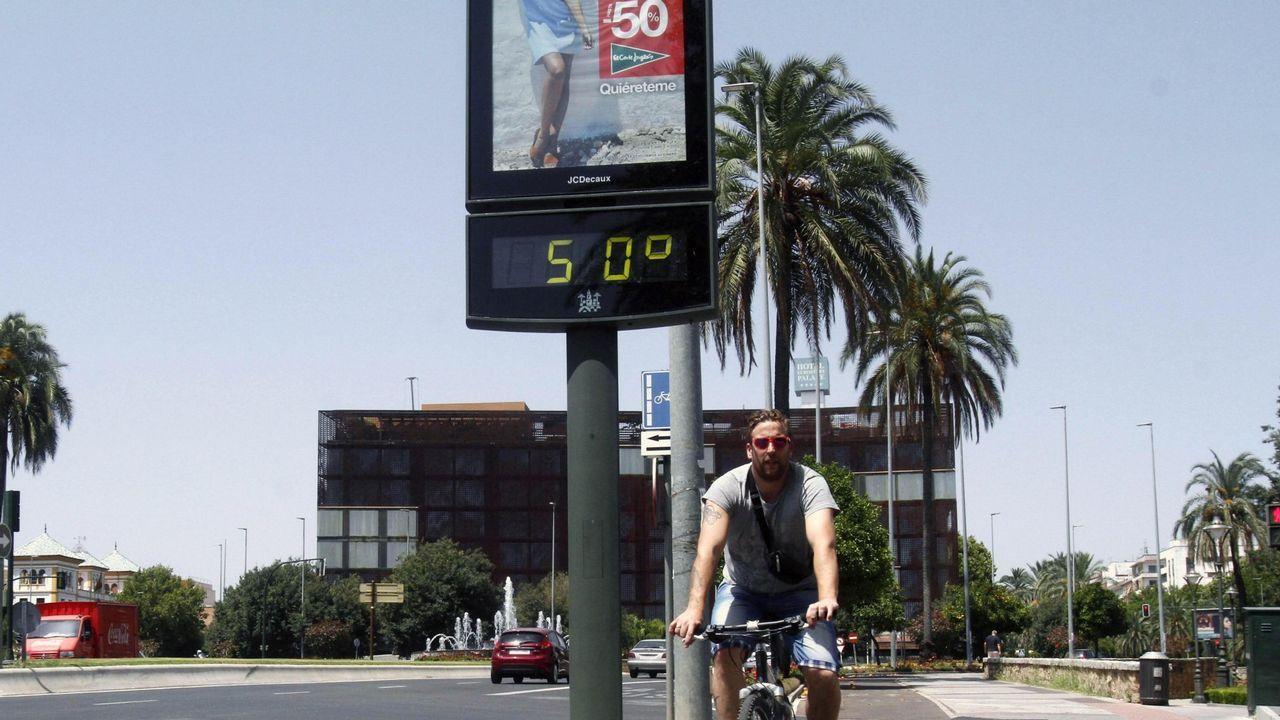 Un pueblo de Córdoba bate el récord histórico de calor en España con 46,9 grados