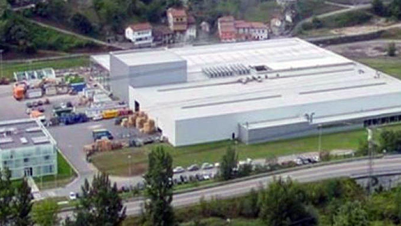 Fábrica de Starglass, en Mieres
