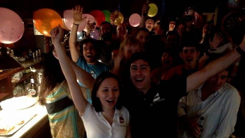 El «sí quiero» de la ex Miss España Estíbaliz Pereira.El Tranvía celebró su 31 cumpleaños con una gran fiesta