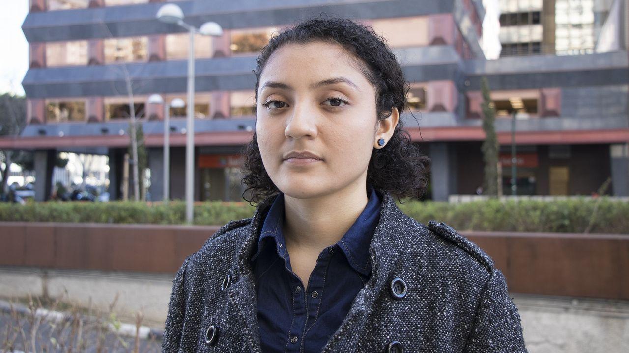 La activista nicaragüense Jessica Cisneros, de 26 años, es una de las 78.710 personas que han solicitado asilo en España y aún no han recibido respuesta.