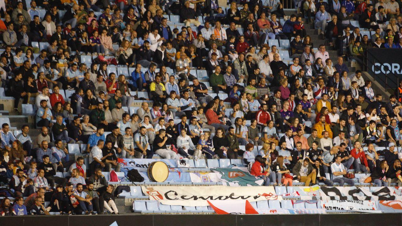 Así está el entorno del auditorio de Vigo