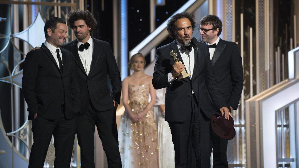 Iñárritu ya recogió el pasado el año la estatuilla al mejor guion por «Birdman».