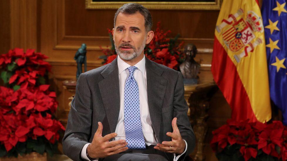 Felipe VI, sobre Cataluña: «El camino no puede llevar de nuevo al enfrentamiento y la exclusión».