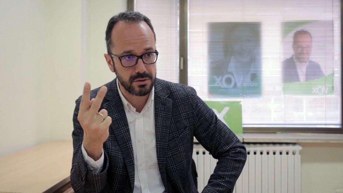Entrevista a Ignacio Blanco (VOX).Nuevas instalaciones de TSK en el Parque Científico y Tecnológico de Gijón