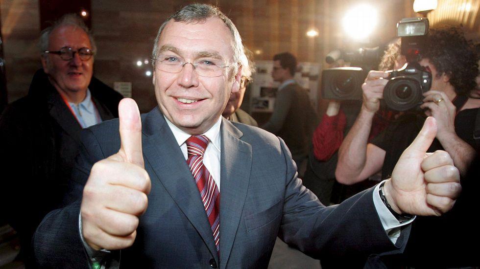.El ex canciller federal de Austria, Alfred Gusenbauer