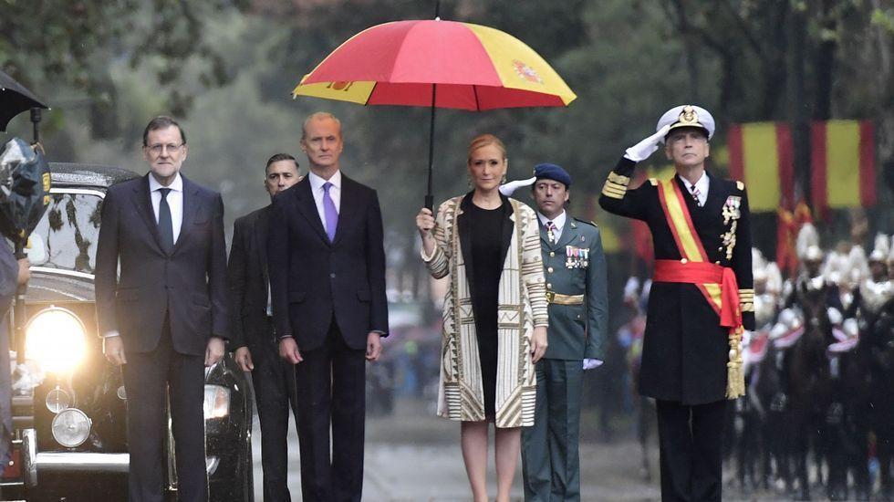La sesión de apertura solemne de las Cortes, en imágenes.Felipe VI y doña Letizia, en el teatro Campoamor