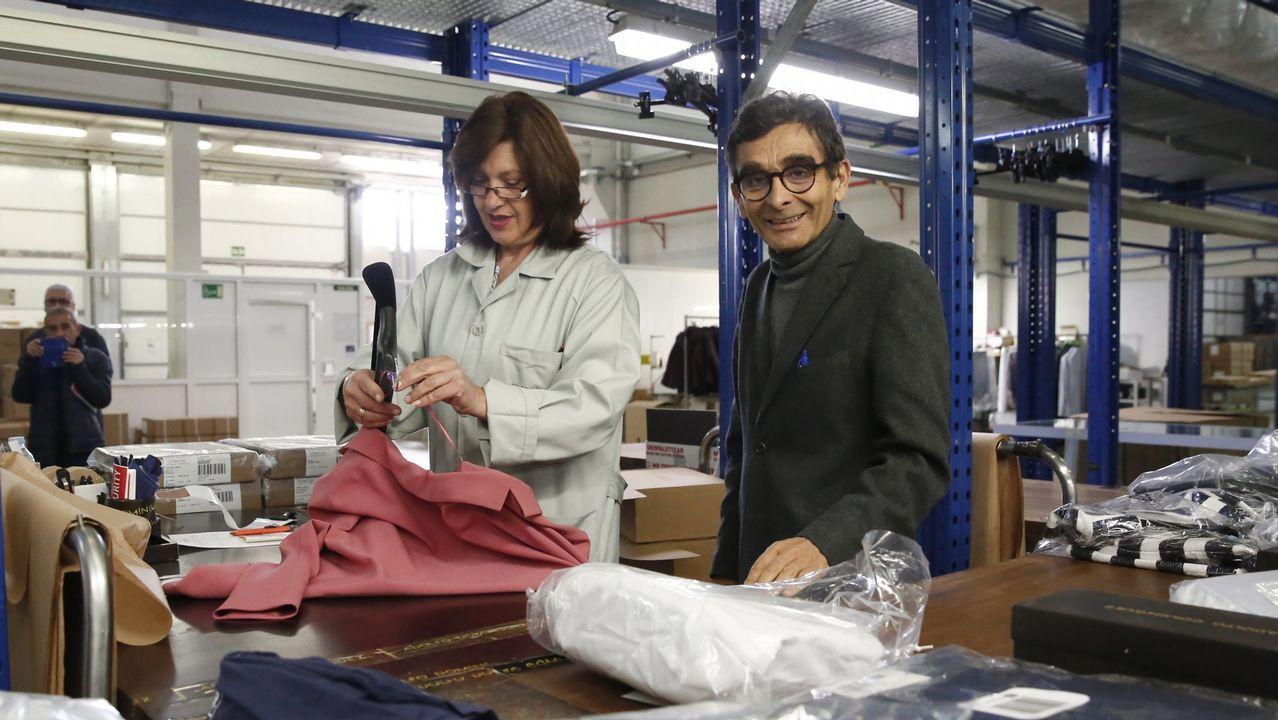 Las claves del gigante textil portugués.Nuno Sousa, de Flor de Moda, es administrador de la empresa situada en Barcelos