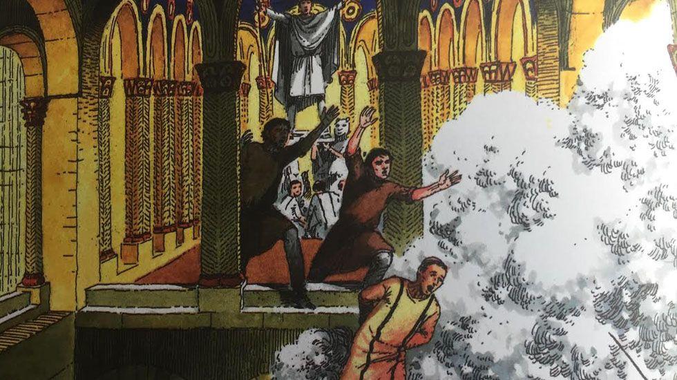 El Apocalipsis sucedió en el Naranco.El Arca Santa vuelve a la Catedral