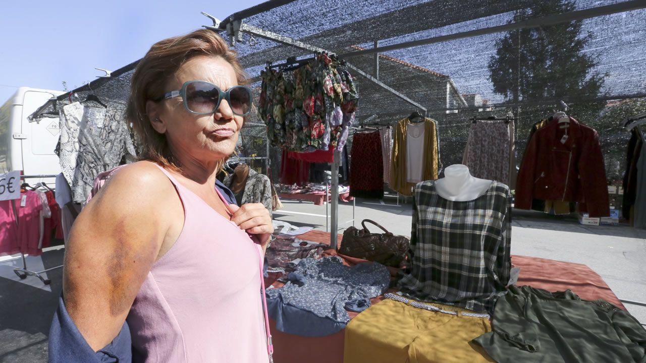 Acoso en el mercadillo de Vilanova