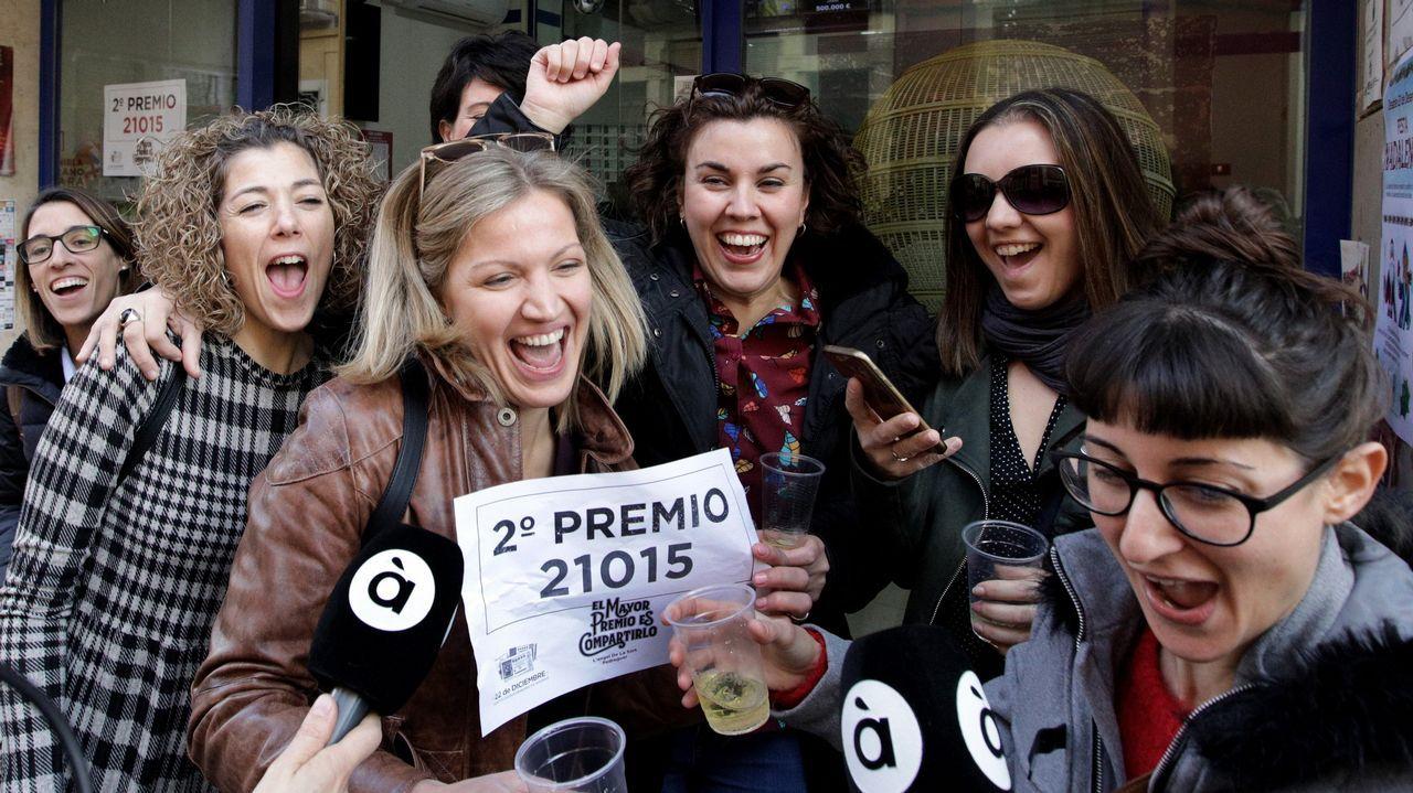 Esta administración de loterías de Pedreguer fue agraciada con parte del segundo premio, el 21015