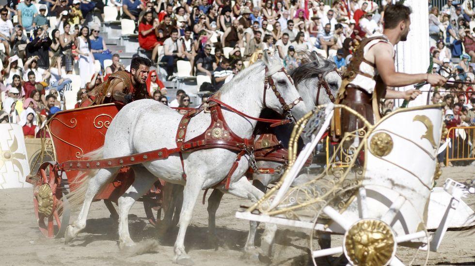 Declaran el Arde Lucus Fiesta de Interés Turístico Nacional.