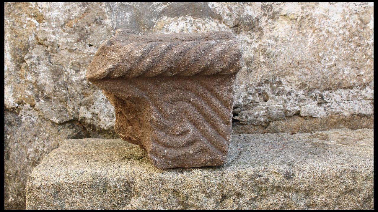 Las imágenes en el santuario de A Cañiza