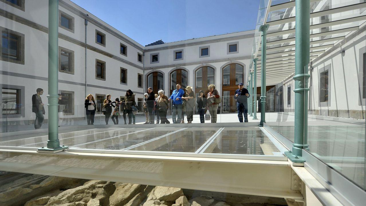 Así está la cárcel de la Torre, la antigua prisión provincial de A Coruña