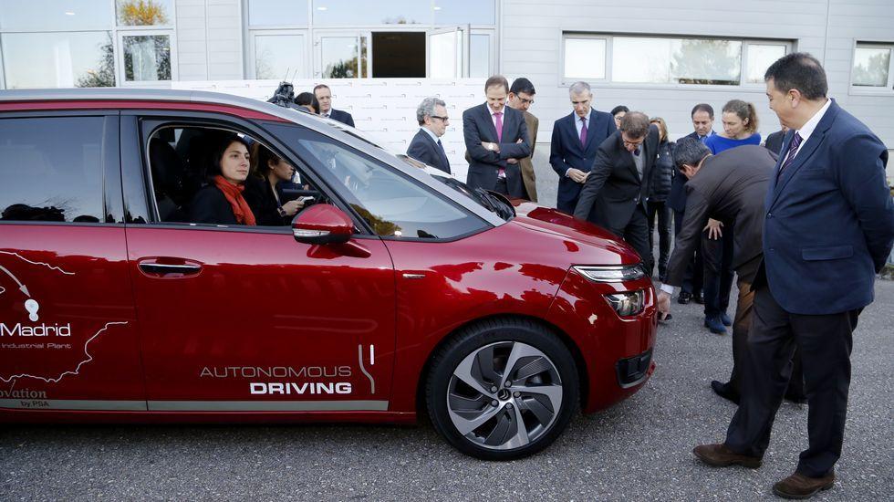 El coche que se lleva sin tocar el volante