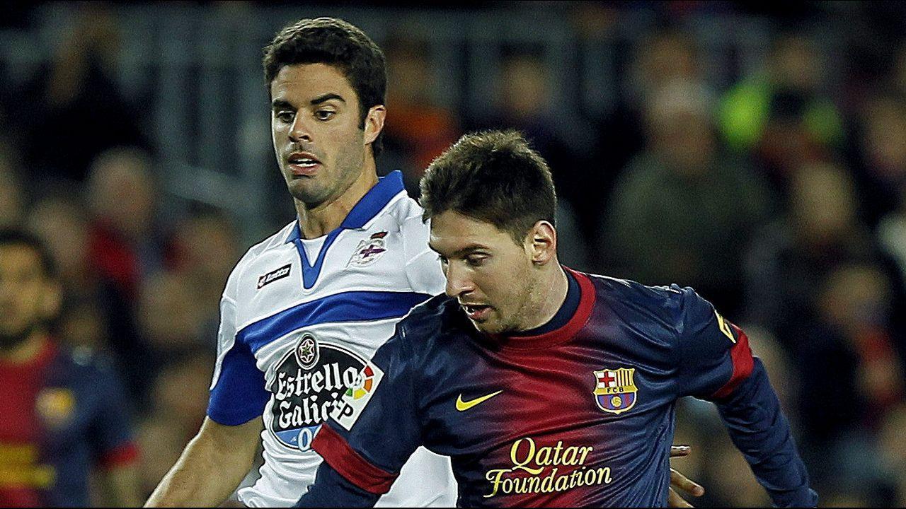 Otra imagen junto a Leo Messi
