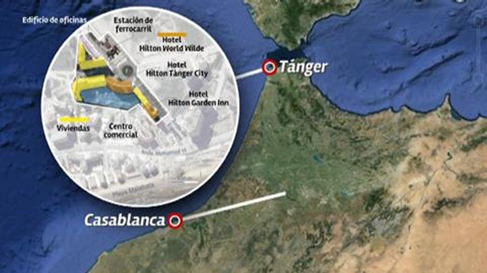 Jove se hace fuerte en Marruecos.Ilustración del «Protocolo contra el maltrato» presentado en Galicia