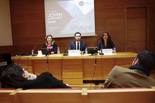 tavernier.El concejal de Economía y Empleo, Rubén Rosón